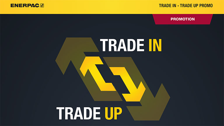 Enerpac Trade in Trade up